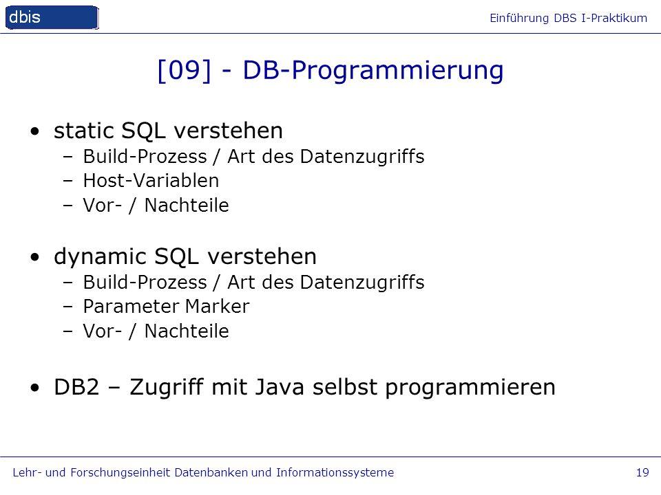 [09] - DB-Programmierung